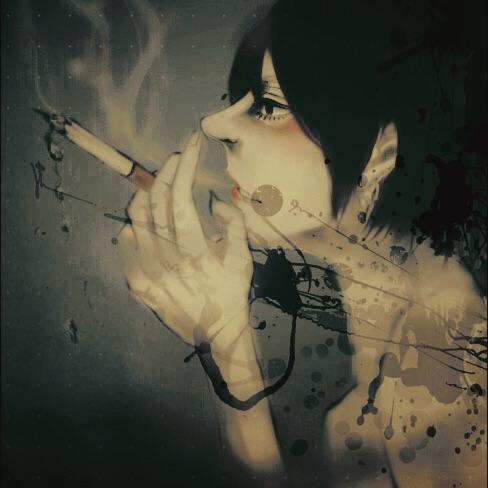 格好良い・イケてる煙草のイラスト描きます 煙草の格好良さを全面に、自分を表現するために