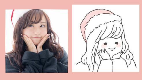 お写真をもとに似顔絵をお描きします シンプルゆる似顔絵☆アイコンやスタンプ等に