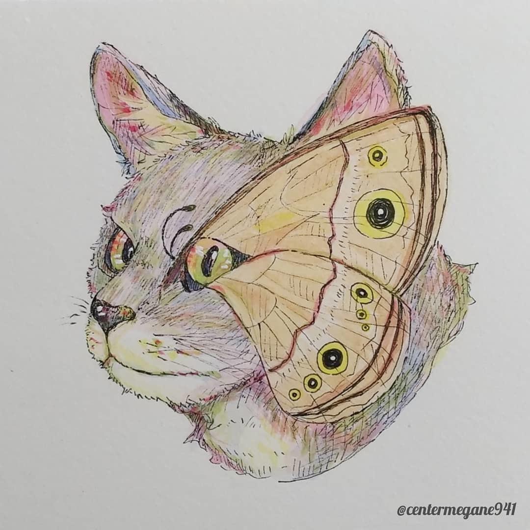個性的な生き物の手描きイラスト描きます あなたの好きな動物に一つ加えて個性的なイラストに仕上げます イメージ1
