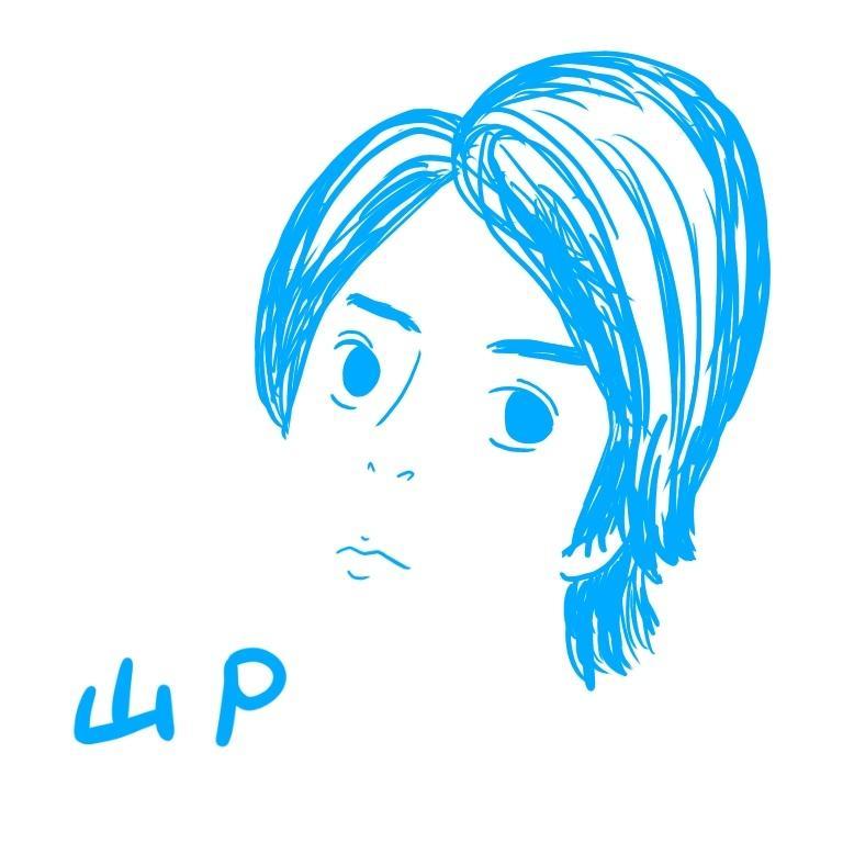 単色で似顔絵描きます iPad ProとApple Pencilで描きます!