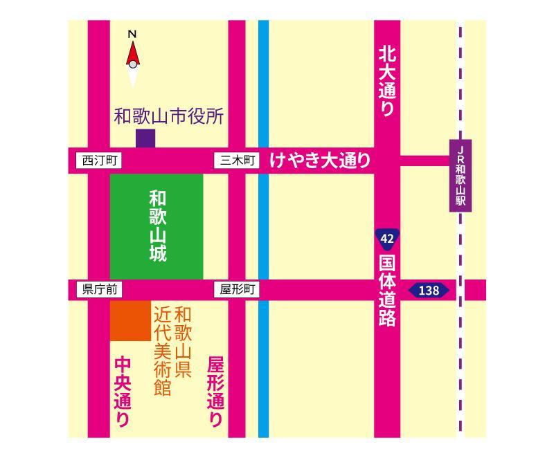 【地図(略図)データ作成】 カラー指定可能!(FAX使用可能) タイプA