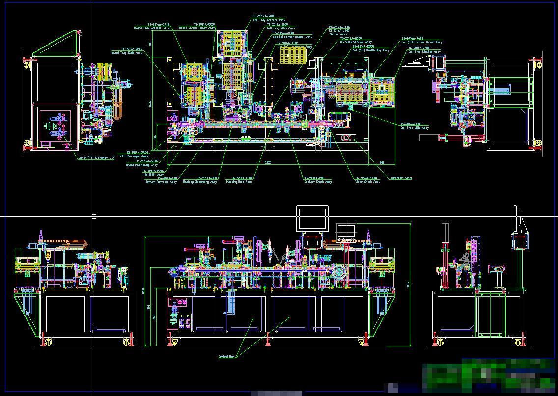 機械装置のCAD(2D,3D)図面を制作します ベテラン設計者がCAD化、設計のお手伝いします。 イメージ1