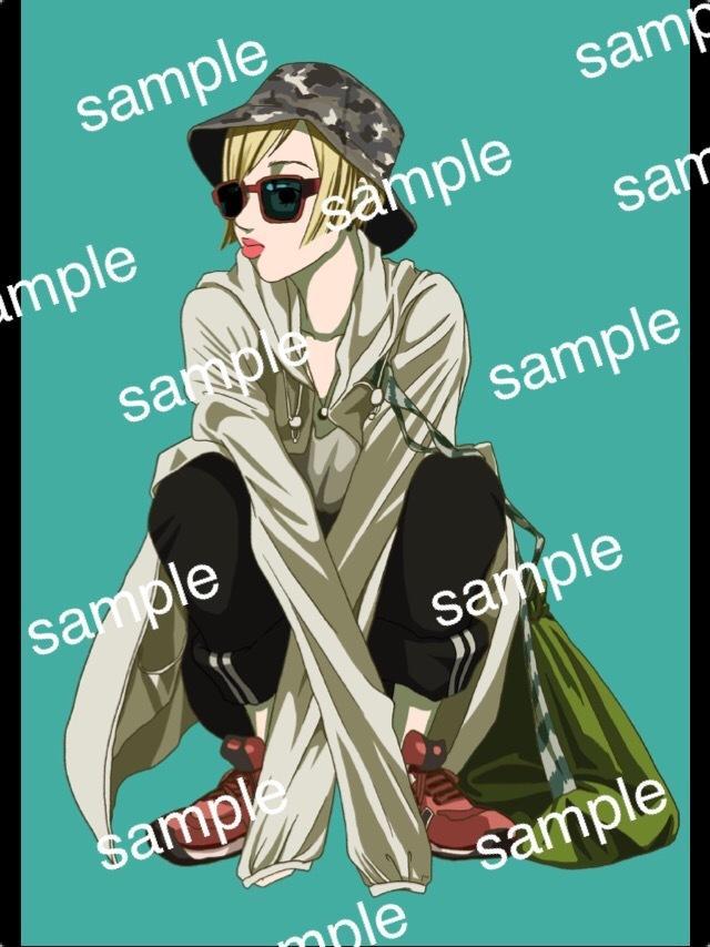 ファッションイラスト描きます お気に入りのファッションをイラストアイコンに!