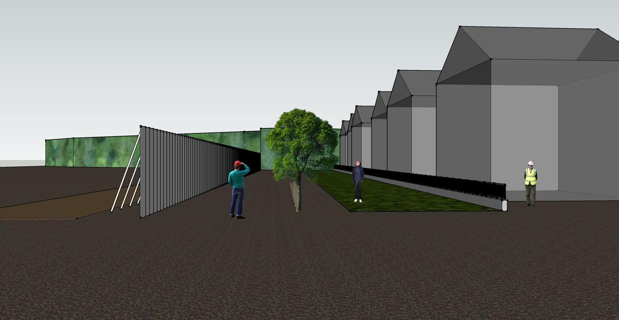 建物等を3Dモデリング後、アニメーション作成します 建築士、建築施工管理技士がお手伝いします。
