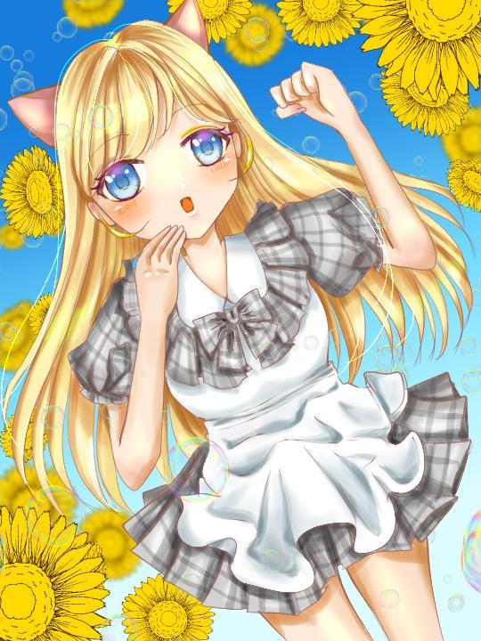 アニメ系の可愛いイラスト描きます SNS、HP、YouTube、印刷物など好きに使用可!