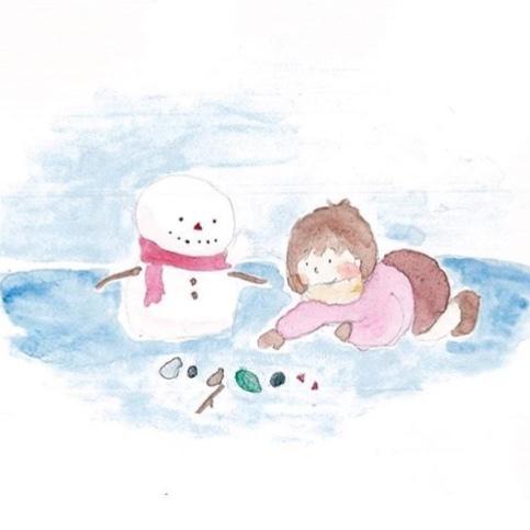 子どもや女性に人気!水彩イラスト承ります 優しくて淡い!親しみやすい手描きならではの味が目を引きます