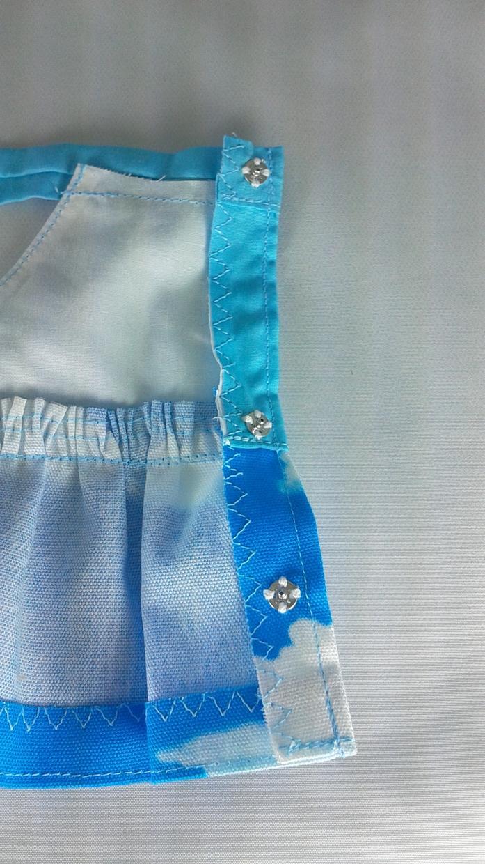 手作り ぬいぐるみ服(青空) 販売します サンアロー、ラッキー、うさぎのぬいぐるみ