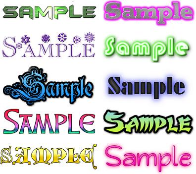 気に入らなければキャンセル可!文字ロゴ作成します 使用用途自由!複数提案可能!修正回数制限なし! イメージ1