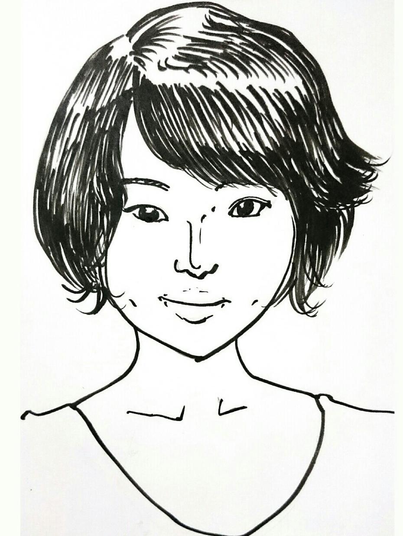 僕の絵柄で似顔絵描きます お気軽に描いてもらいたいで楽しみたい