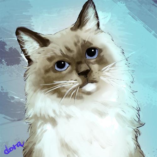 ◆Twitter等のSNSアイコン(似顔絵、ペット、キャラクター)を作成致します。