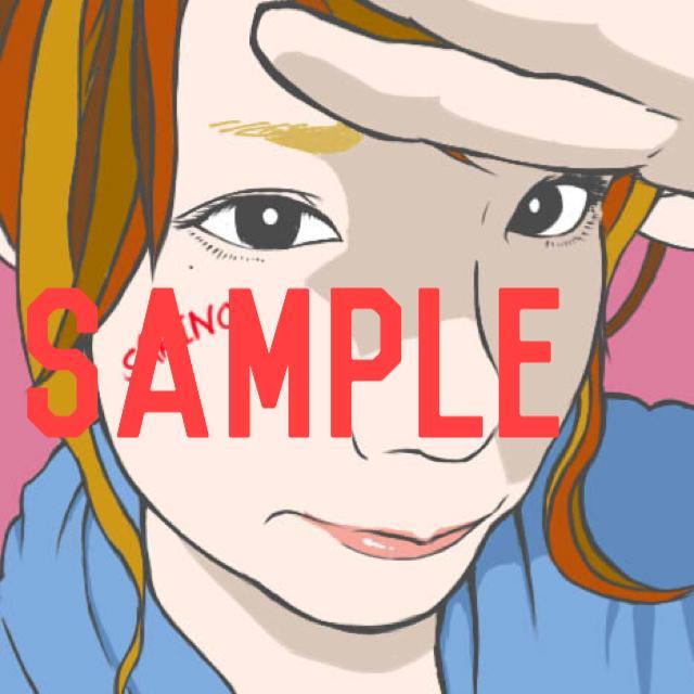 似顔絵&イラスト描ききます SNS用アイコンや、ウェルカムボード、プレゼントに是非!