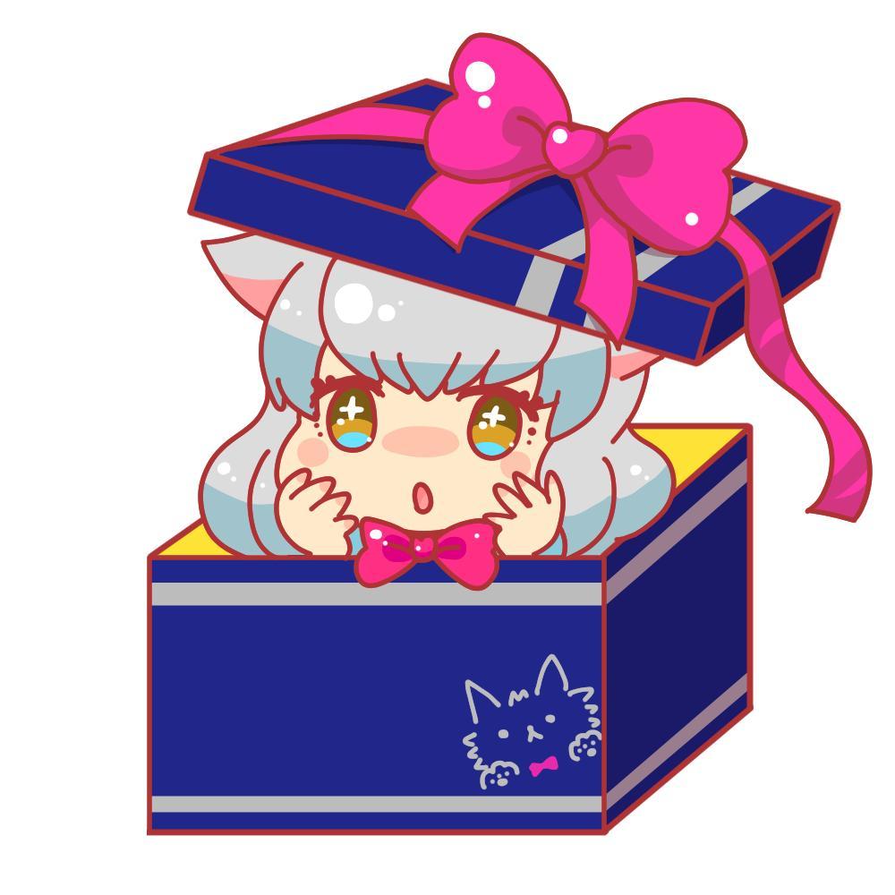 自分だけのオリジナル!箱入りアイコン描きます お気に入りを箱いっぱいに詰めた可愛いイラスト
