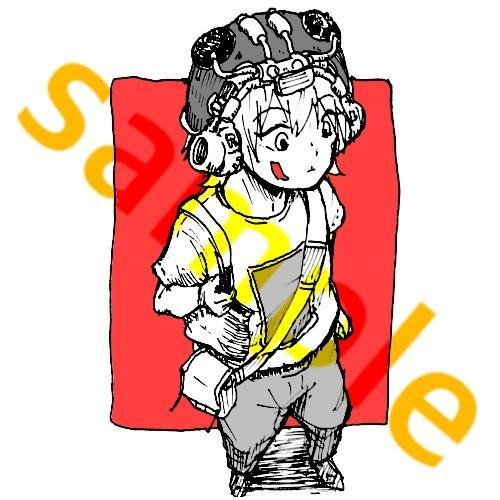 ペン画で細密なイラストを描きます 広告、SNSアイコン、ヘッダー等好きに使えるイラストです。