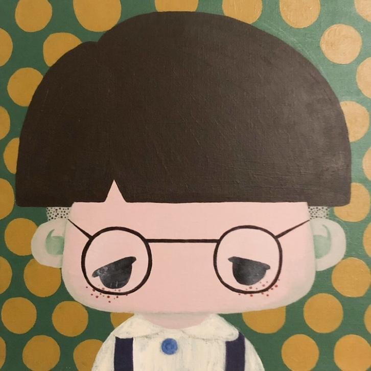 ポップで可愛いデフォルメ似顔絵描きます ご自身や大切な方の似顔絵をお部屋に飾りませんか?