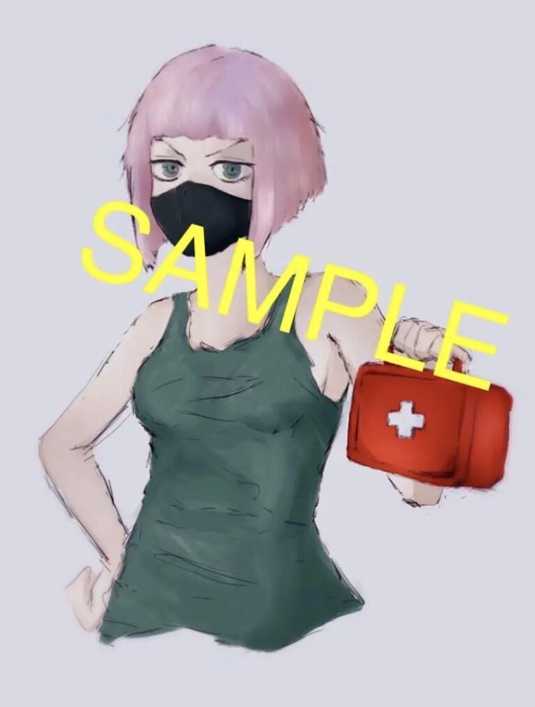 アイコン、イラスト制作いたします 基本料金1000円〜*アニメやゲームキャラ、夢絵、創作など!