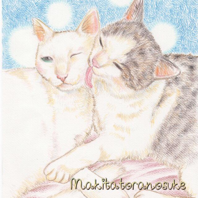 犬猫、小動物のイラスト描きます 一枚の写真が色鉛筆タッチで素敵に変身★