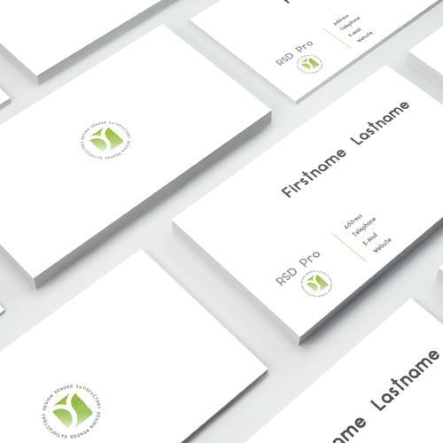 伝わるデザインで価値あるつながりをお届けいたします 名刺、フライヤーを機能するデザインへ仕上げます