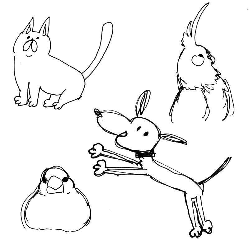 あなたの大切なペットを描きます 可愛い、リアル、ゆる~いなど要望にお応えします!