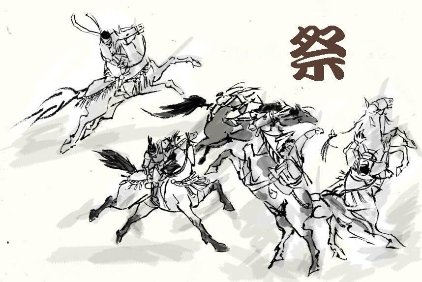 馬の絵 、描きます!