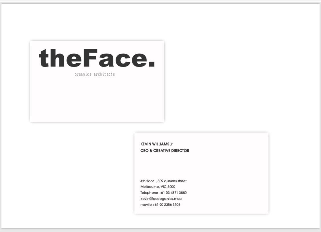 シンプルでオシャレなモノクロ名刺ご提案します ✴︎現役ディレクターが〈残される名刺〉をリーズナブルに✴︎ イメージ1