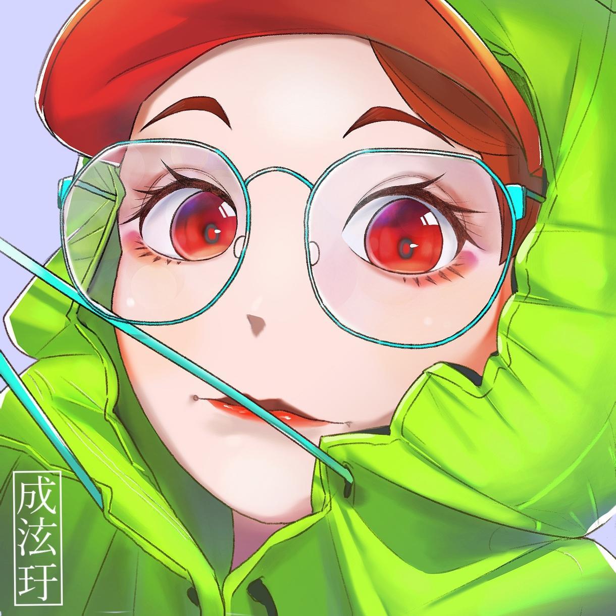 イラストを描きます 角があるキャラクターとか女の子が得意です。 イメージ1