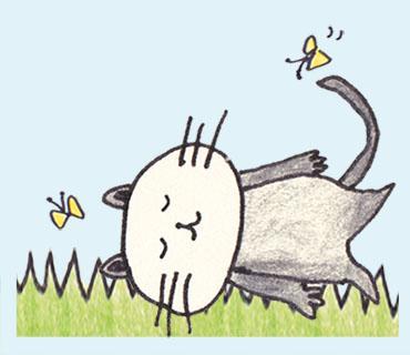 ネコのイラスト描きます ゆるくかわいいネコちゃんのイラストを描いてほしい方