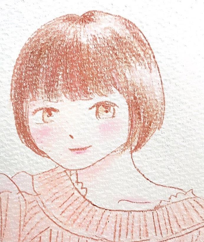 お写真から似顔絵を描きます 大切な人や、SNSのアイコンなどに♪ イメージ1