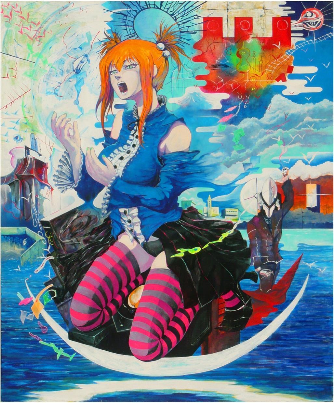 アナタが見たい風景画、人物画を描きます ファンタジー、SFが好きな方へ。