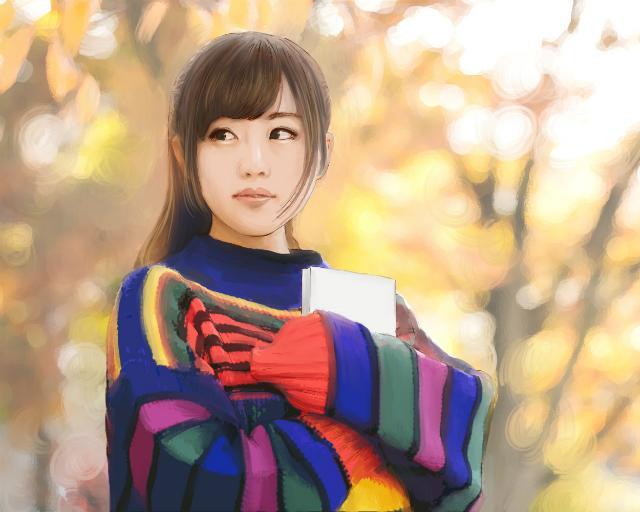 肖像画風リアルタッチな似顔絵描きます 大切な人への贈り物や特別な記念日などに!