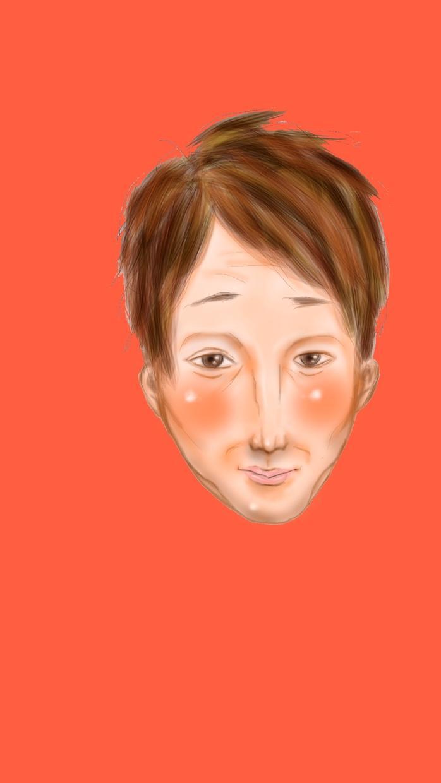 あなたの写真を元に似顔絵描きます(* 'ω')ノ