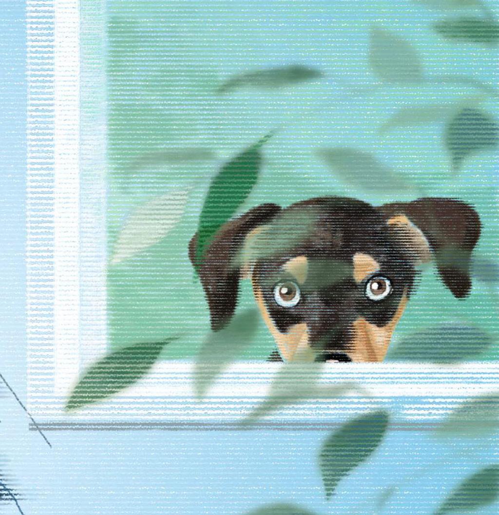 リアルタッチでペットのイラストをお描きします デジタルでアクリル、水彩画、パステル風と選んでいただけます。