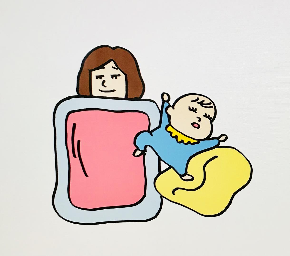 広告やブログ、webサイトに使用するイラスト描ます 子育て、日常、ゆるかわいいイラストを使用したい方へ。