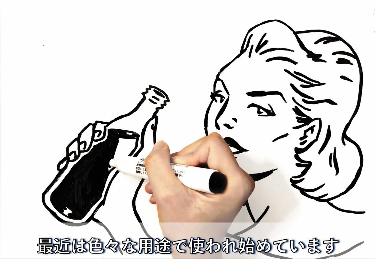 イラスト動画で30秒前後の広告を作成いたします 手書きならではの魅力で見る人を惹きつけましょう! イメージ1