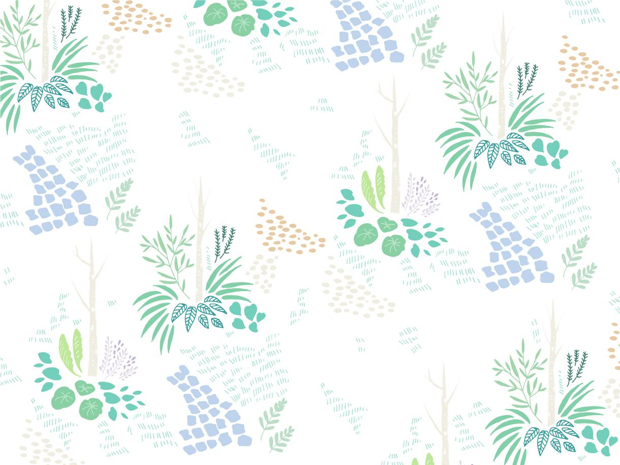 オリジナルパターン(壁紙)のデザインします 結婚式、テキスタイルに!オシャレなパターン(壁紙)デザイン