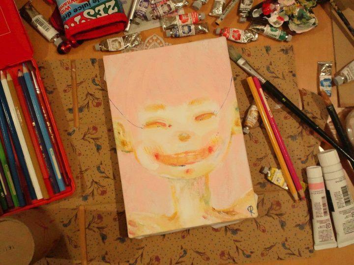 すてきな!笑顔のイラストや似顔絵を描きます