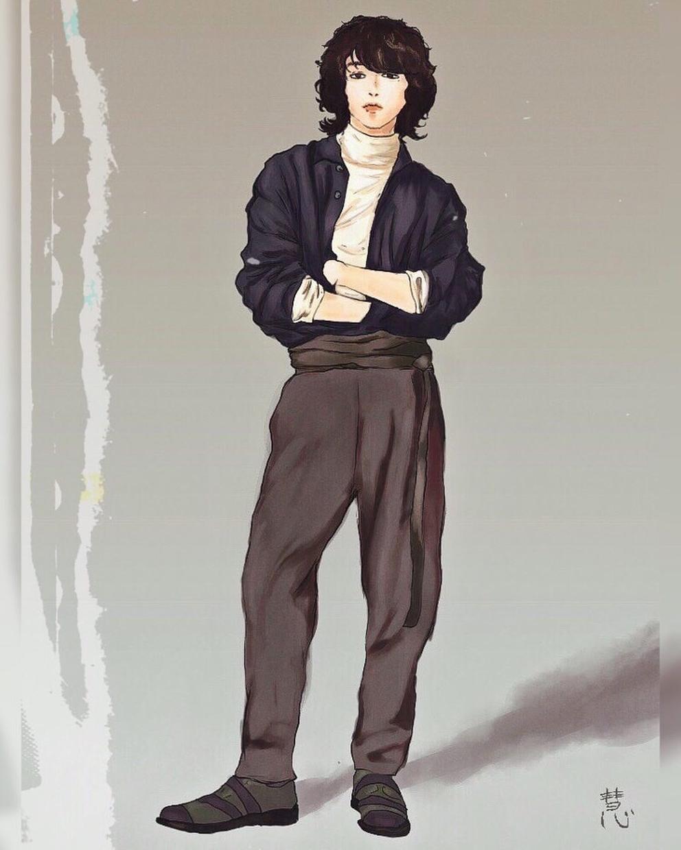 レトロでおしゃれなイラストまでお描きします 似顔絵、表紙、ジャケット、ロゴ・・・イメージに合わせて色々!