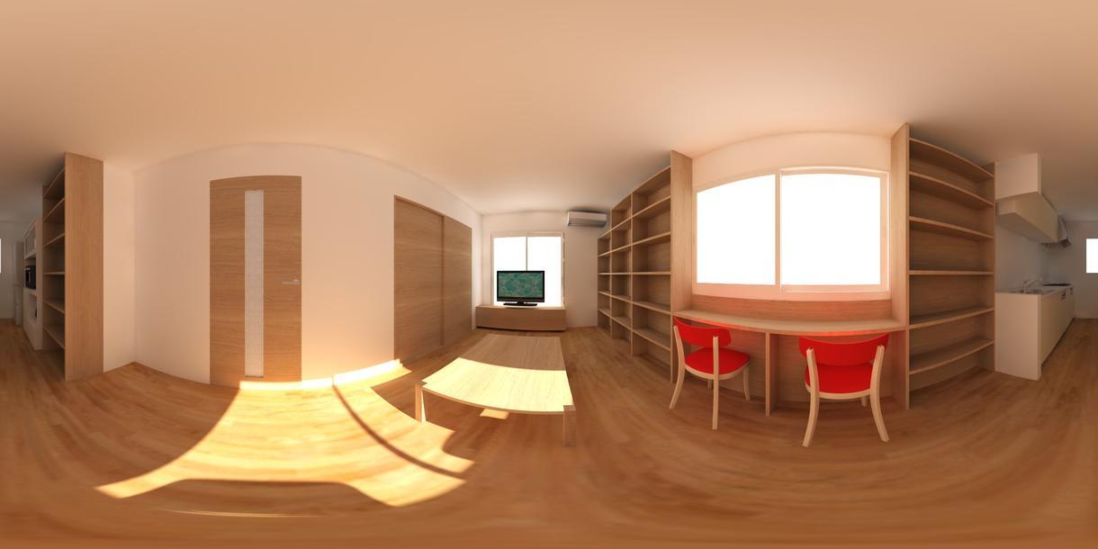 建築・造園・工業系等の仮想現実VRデータ作ります 建築士、建築施工管理技士がVRにて資料お手伝いします。