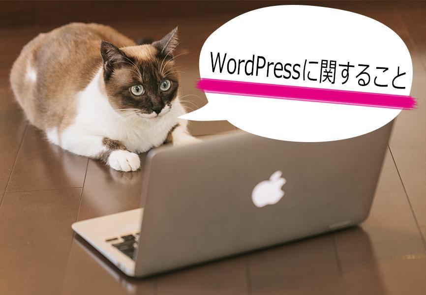 WordPressの不具合等解決いたします WordPressの不具合等で困っていることを解決いたします