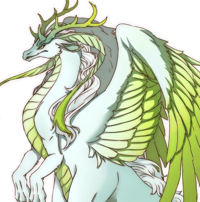 あなただけのドラゴンを描きます ドラゴンなどの幻獣が好きな方に