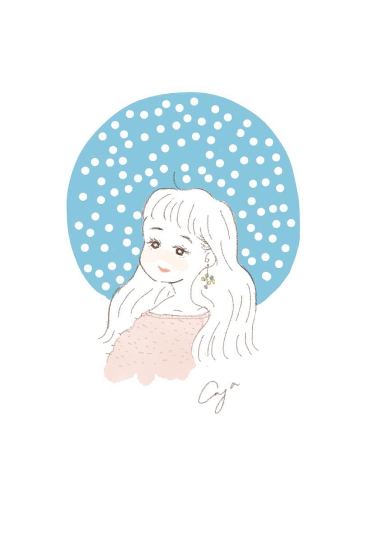オシャレで可愛いものが好きあなたを描きます 女性、カップル、家族、子ども向け