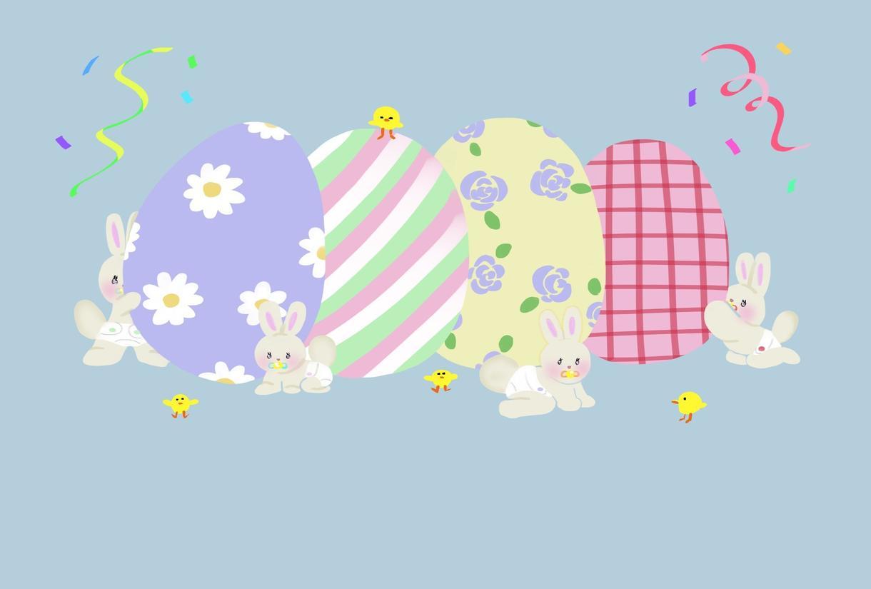 可愛くて癒されるアイコン・ヘッダーを描きます ふわふわした可愛らしくて、優しいイラストを提供します イメージ1