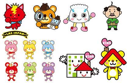 オリジナルキャラクターをデザインします 企業のブランドキャラやホームページに使えます。