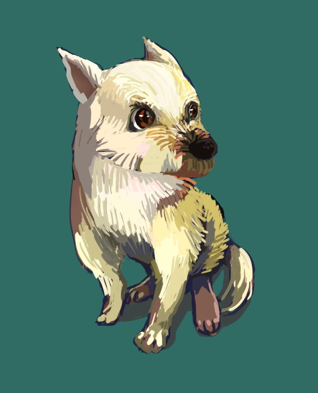 ナチュラルな動物の絵を描きます SNSのアイコンやブログなどにお使いください