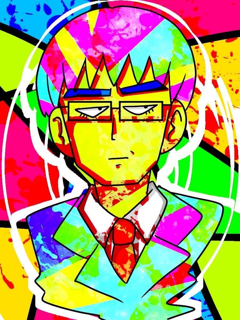 ギラギラとした色合いのポップイラストを描きます とにかく派手で目立つアイコンや絵が欲しいあなたに