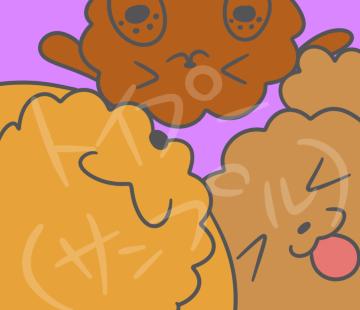 あなたの小さな家族(ペット)を可愛いキャラクター風のイラストにしちゃいます☆.*