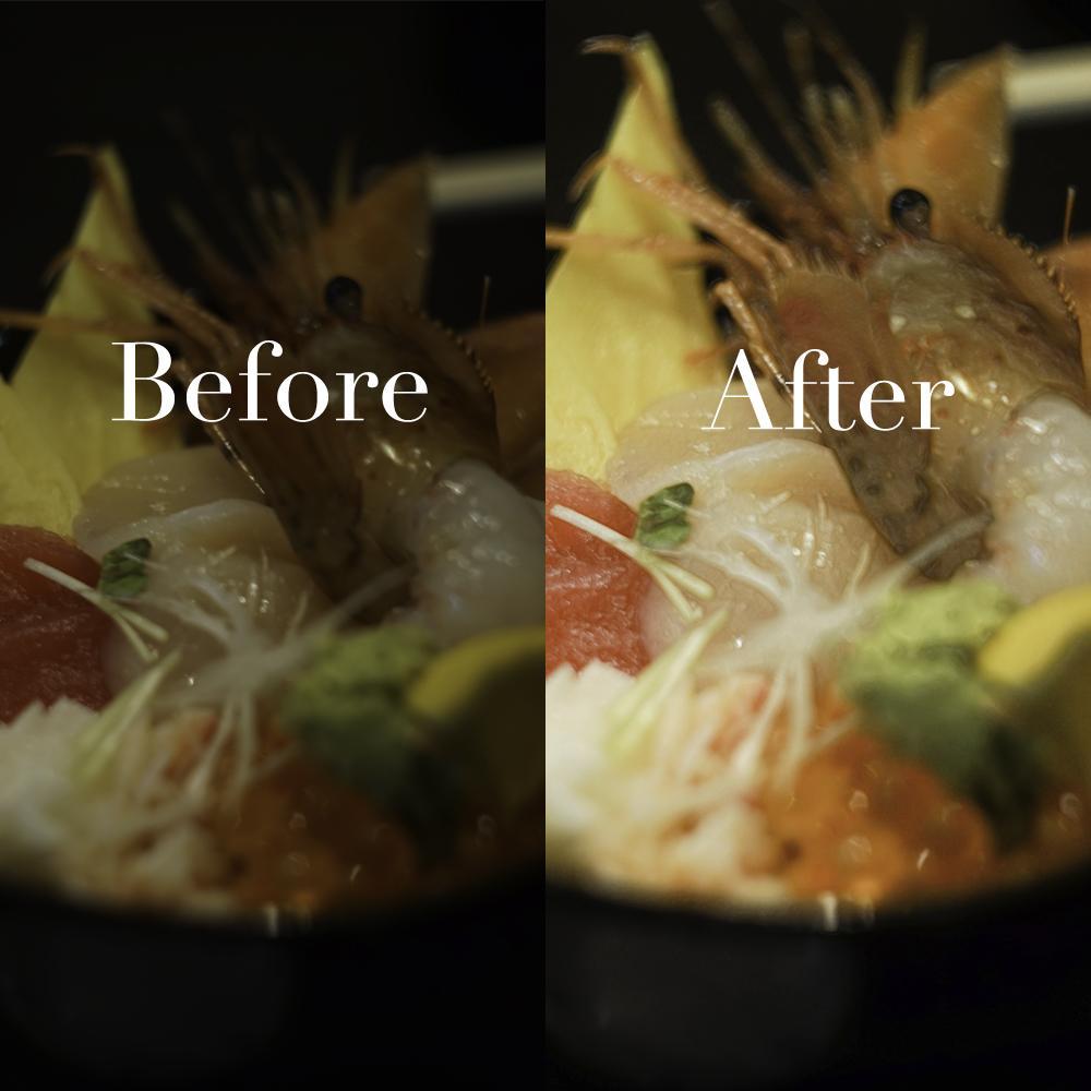 料理画像を劇的に美味しく見せます 今にも食べたくなる魅力的な画像にします! イメージ1