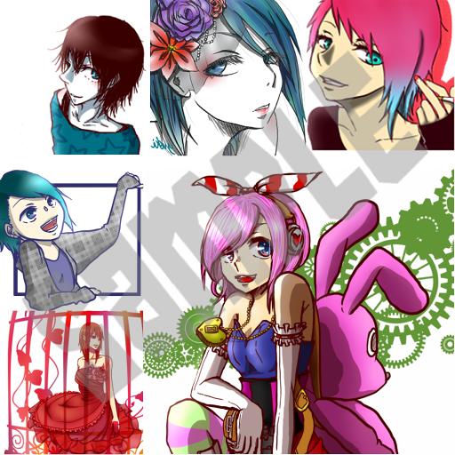 イラスト描きます SNSのサムネ、オリジナルキャラクターの等身大イラスト等!