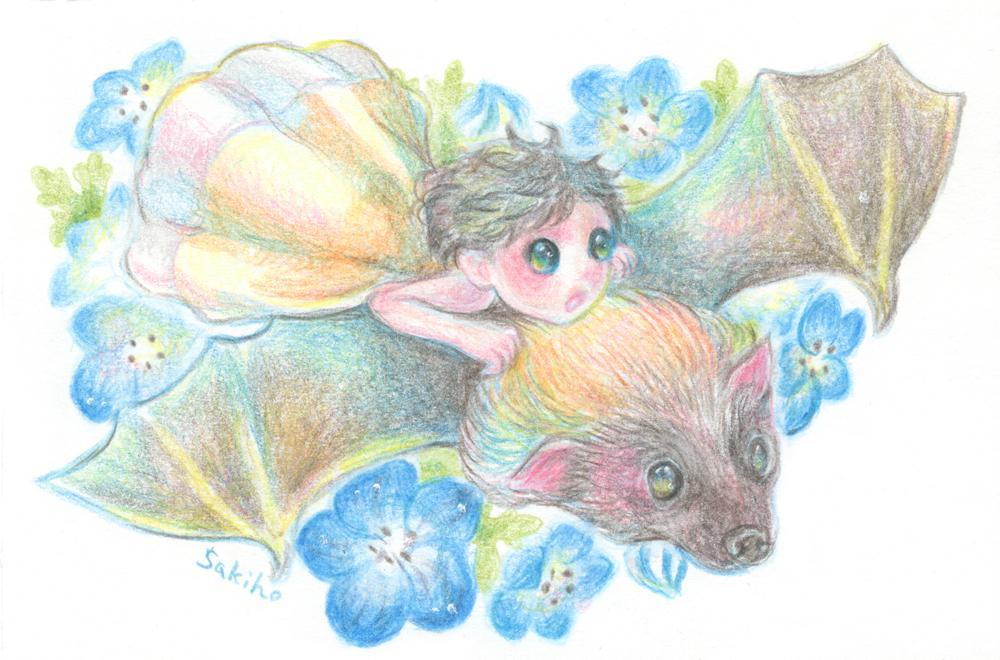 童話のようなイラスト描きます 暖かみのあるタッチの色鉛筆イラスト