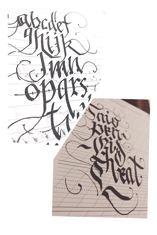 タトゥー(アルファベット)デザインします オシャレ、カッコいいデザインを考えている方に是非!
