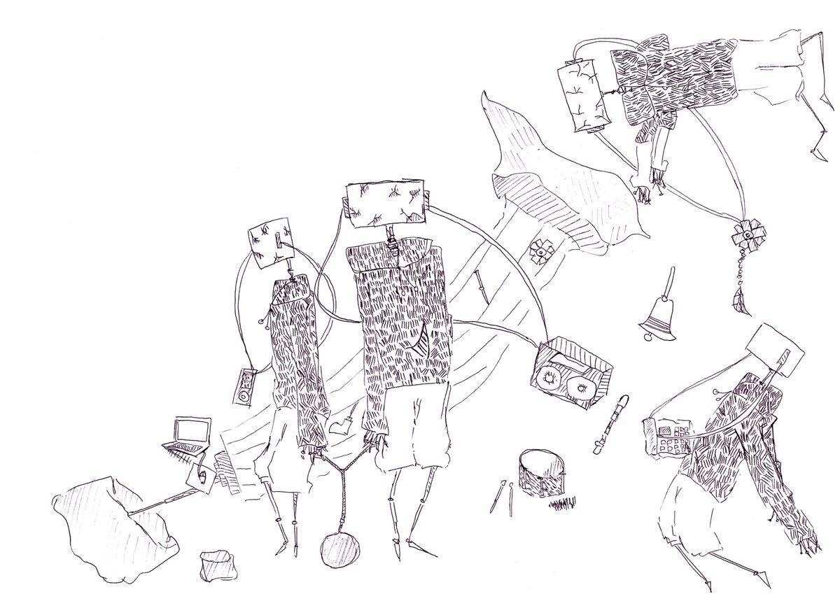 SNSアイコンや一枚画を描きます 不思議な世界観から、可愛い女の子までジャンルは様々!